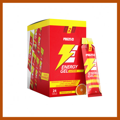 24 x ENERGY GEL- CAFEÍNA 25 G