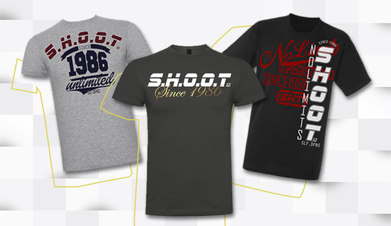 Camisetas diseño exclusivo SHOOT sport
