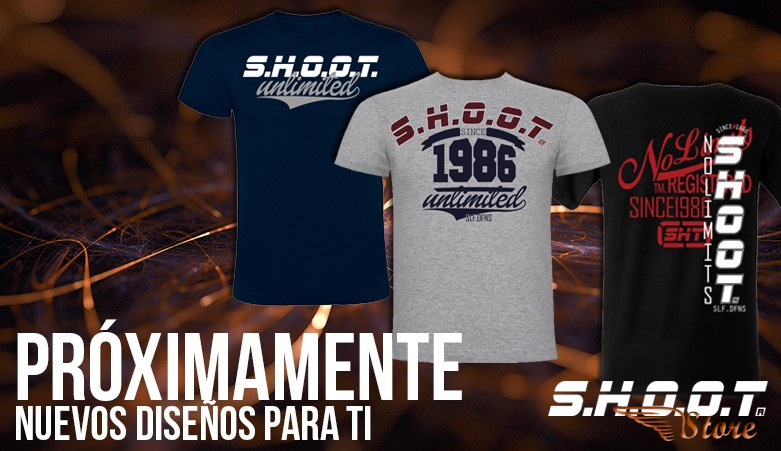 Camisetas SHOOT para chico